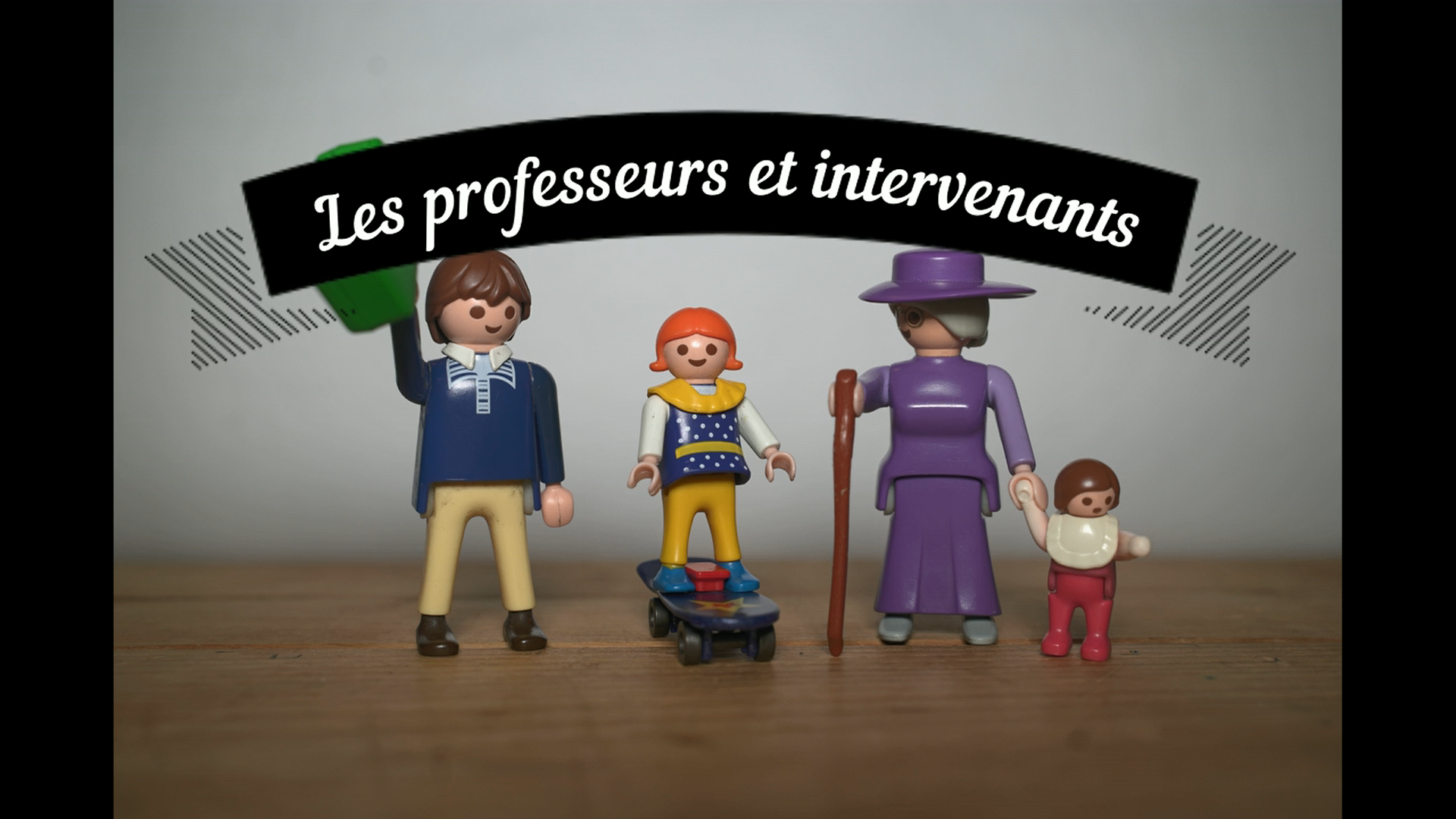 Le retour de la mini-série «Les professeurs et intervenants»