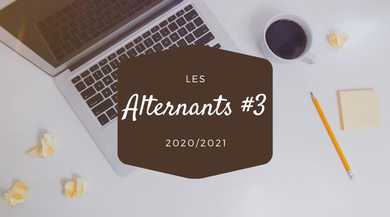 Les Alternants #3 (2020/2021) : Clarisse