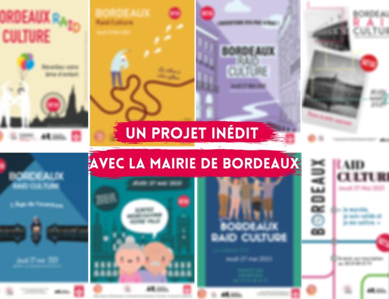 Un projet inédit avec la mairie de Bordeaux