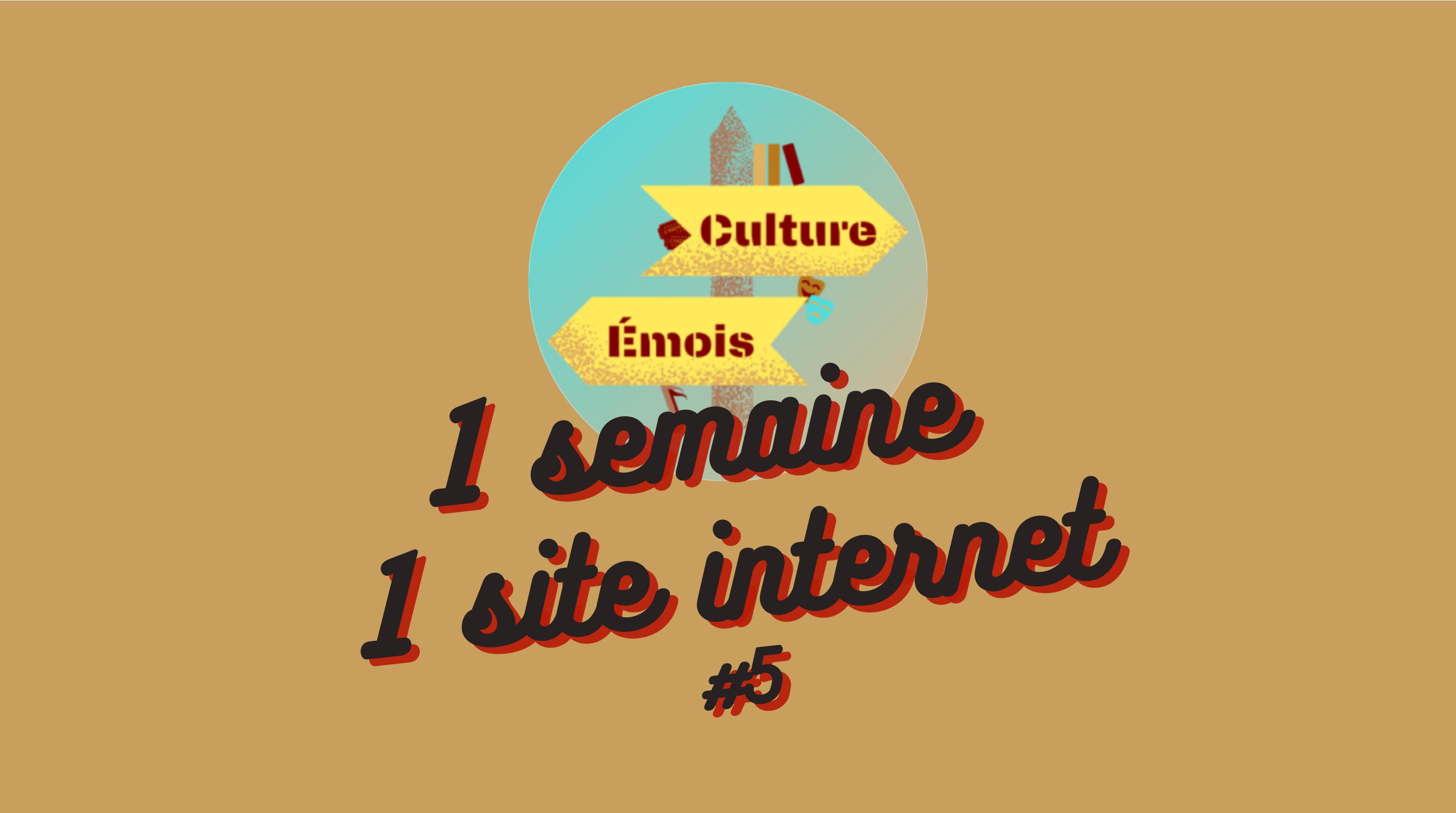 1 Semaine 1 Site internet #5