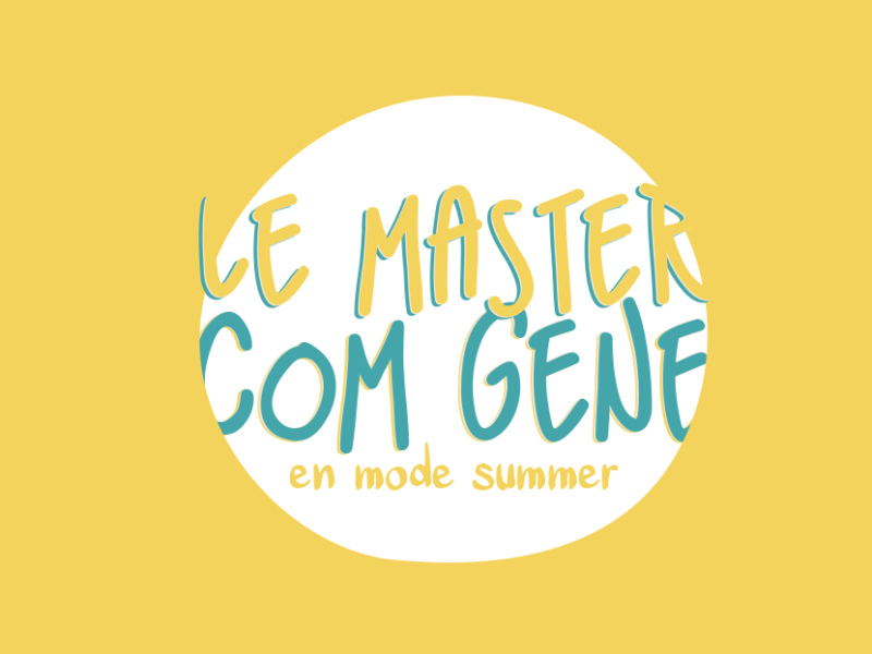 Des news du côté du master Com Géné !